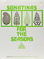 GP310 - Sonatinas for the Seasons - Bastien