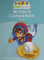 Storytown: Writer'S Companion Student Edition Grade 4