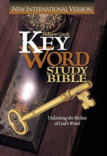 NIV Hebrew-Greek Key Word Study Bible : Hardbound