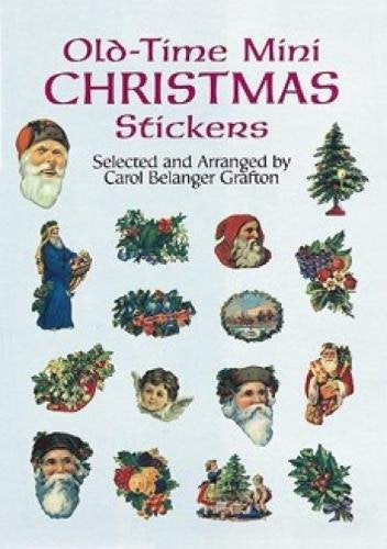 Old-Time Mini Christmas Stickers (Dover Stickers)