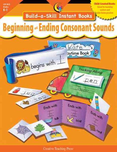 BEGINNING & ENDING CONSONANT SOUNDS, BUILD-A-SKILL INSTANT BOOKS
