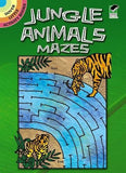 Jungle Animals Mazes (Dover Little Activity Books)