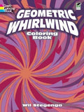 Geometric Whirlwind Coloring Book (Dover Design Coloring Books)