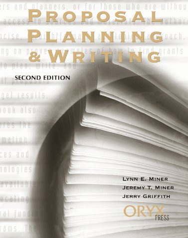 Proposal Planning and Writing (2nd Edition)