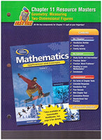 Glencoe Mathematics, Applications and Concepts, Course 2. Chapter 11 Resource Masters.