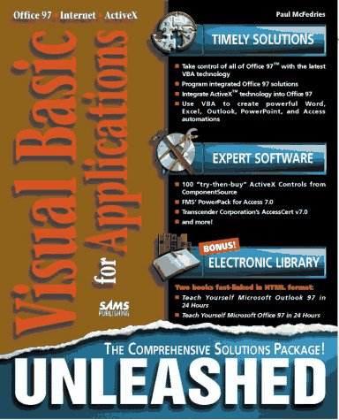 Visual Basic for Applications Unleashed