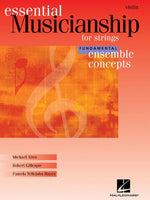 Essential Musicianship for Strings - Ensemble Concepts: Fundamental Level - Violin