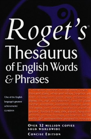 Rogets Thesaurus Of English Words And Phrases Concise Edition (Penguin Reference Books)