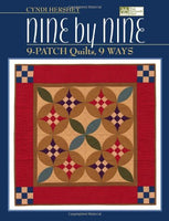Nine by Nine: 9-patch Quilts, 9 Ways