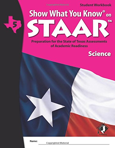 SWYK on STAAR Science Flash Cards Gr 5 (Show What You Know on Staar)