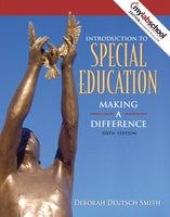 Introduction To Special Education: Making A Difference (Book Alone) (6Th Edition)