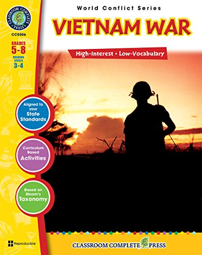 Vietnam War Gr. 5-8 (World Conflict) - Classroom Complete Press