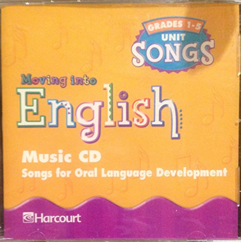 Moving Into English: Music CD Grades 1-5