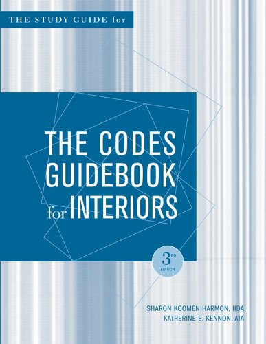 The Codes Guidebook for Interiors, Study Guide 3rd Edition
