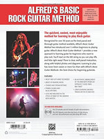 Alfred's Basic Rock Guitar Method, Bk 1: The Most Popular Series for Learning How to Play (Alfred's Basic Guitar Library)