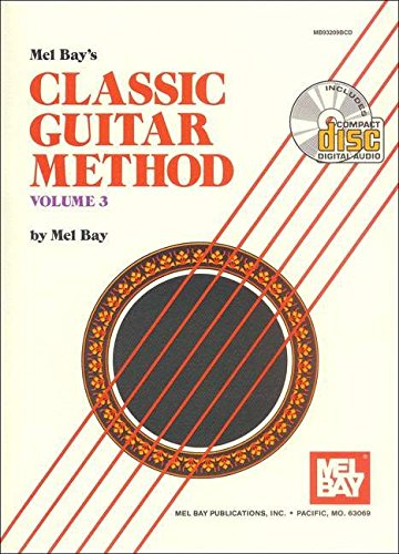 Mel Bay Classic Guitar Method, Vol. 3