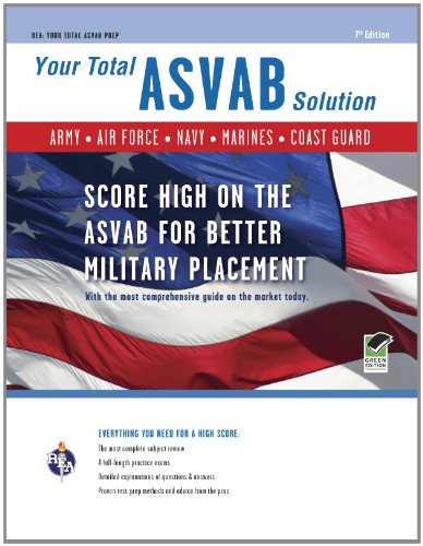 ASVAB  7th Edition: Your Total Solution (Military (ASVAB) Test Preparation)