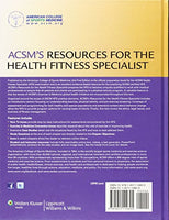 Acsm'S Resources For The Health Fitness Specialist