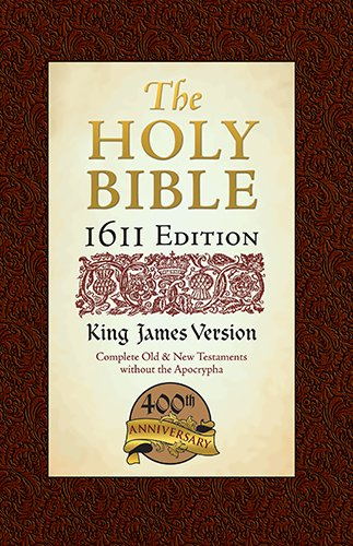 1611 Bible-KJV-400th Anniversary w/out Apocrypha