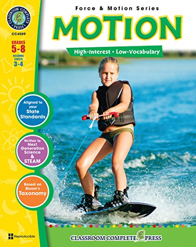 Motion Gr. 5-8 (Force & Motion) - Classroom Complete Press