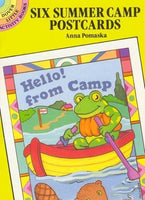 Six Summer Camp Postcards (Dover Little Activity Books)