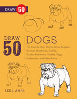 Draw 50 Dogs (Turtleback School & Library Binding Edition)