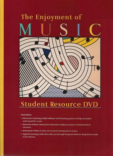 Student Resource DVD: for The Enjoyment of Music: An Introduction to Perceptive Listening, Tenth Edition