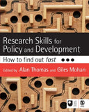 Research Skills for Policy and Development: How to Find Out Fast (Published in association with The Open University)