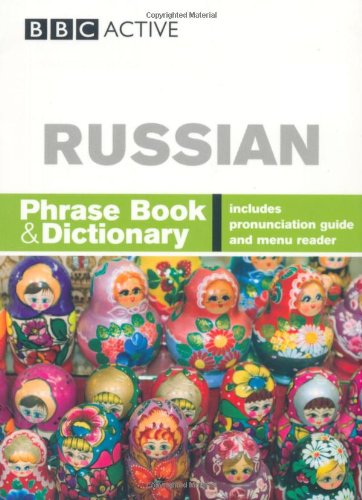 Russian Phrase Book & Dictionary (Russian Edition)