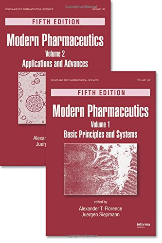 Modern Pharmaceutics, Two Volume Set, Fifth Edition (Drugs and the Pharmaceutical Sciences)