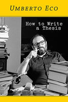 How To Write A Thesis (The Mit Press)
