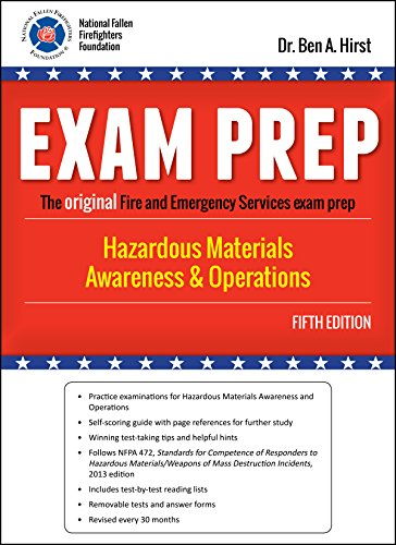 Exam Prep: Hazardous Materials Awareness & Operations, Fifth Edition