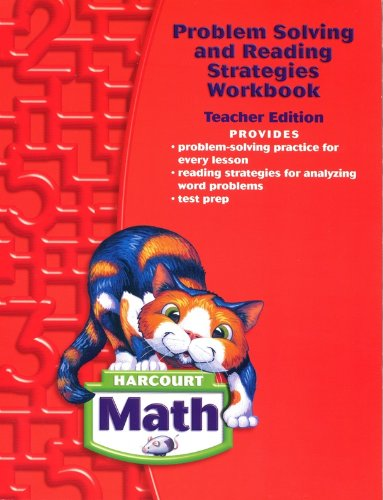 Harcourt Math, Grade 2: Problem Solving and Reading Strategies Workbook, Teacher's Edition