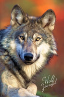 Wolf Journal: Wolf Photography Gifts / Presents for Wolf Lovers ( Large Ruled Notebook with Wolves ) (Animal Series)