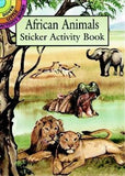 African Animals Sticker Activity Book (Dover Little Activity Books Stickers)