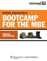 Steve Emanuels Bootcamp for the MBE (Emanuel Bar Review)