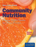 Community Nutrition: Planning Health Promotion And Disease Prevention