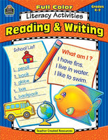 Full-Color Literacy Activities: Reading & Writing