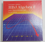 HBJ Algebra 2 with Trigonometry, Teacher's Edition