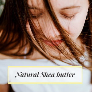 Lady using Shea Butter for Skin Care