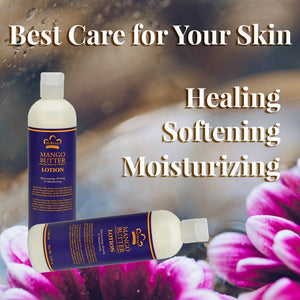Best Care for your skin with healing, softening and moisturizing.