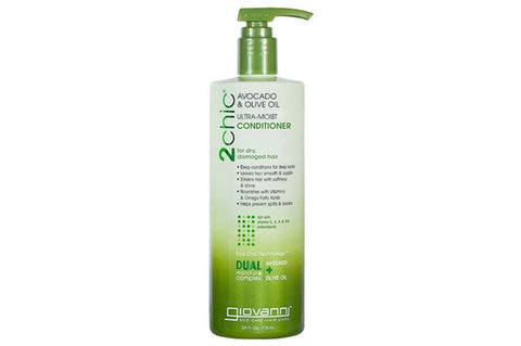 Giovanni Hair Care Products - 2Chic Avocado And Olive Oil Conditioner ( 1 - 24 FZ)-BHA