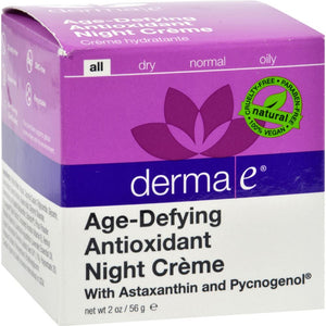 Age-Defying Night Creme With Astaxanthin And Pycnogenol