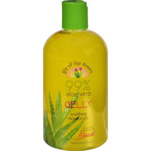 Lily of The Desert - Aloe Vera Gelly Soothing Moisturizer ( 2 - 12 OZ)-BHA