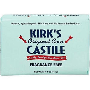 Coco Castile Fragrance Free Bar Oap ( 9 - 4 OZ)-BHA
