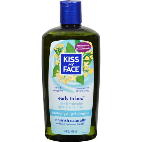 Kiss My Face - Early To Bed Clove And Ylang Ylang Bath And Shower Gel ( 2 - 16 FZ)-BHA
