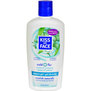 Kiss My Face - Eucalyptus And Menthol Bath And Shower Gel ( 2 - 16 FZ)-BHA