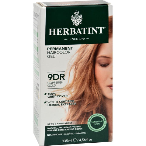 Herbatint - Haircolor Kit - Copperish Gold 9D ( 1 - CT)-BHA