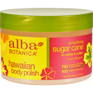 Hawaiian Body Polish Sugar Cane ( 2 - 10 OZ)-BHA
