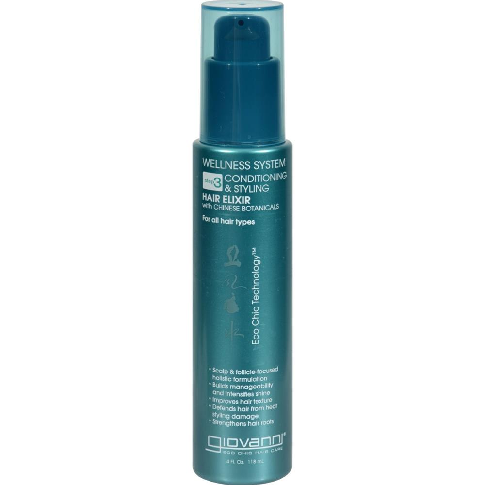 Giovanni Hair Care Products - Leave In Conditioner Wellness System ( 3 - 4 FZ)-BHA